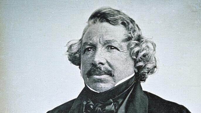 Louis-Jacques-Mandé Daguerre un chimico fisico artista francese